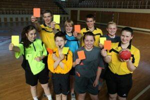 Wismar Nachwuchsschiedsrichter im Handball